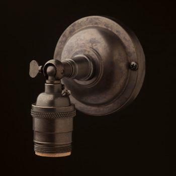 Bronze-Knuckle-Wall-sconce-E26-socket