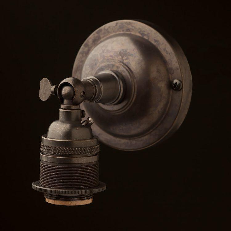 Bronze Knuckle Wall mount E26 socket