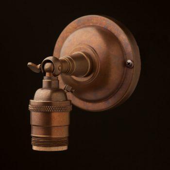 Brass-Knuckle-Wall-mount-E26-socket
