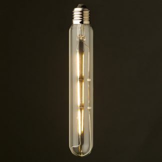 2 Watt Dimmable Filament LED E26 Clear Medium Tube