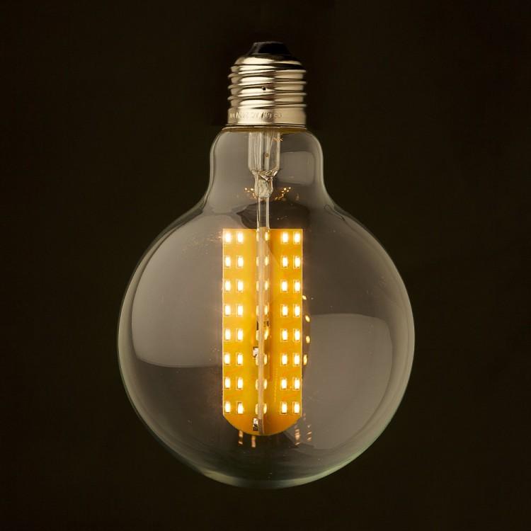 3 Watt Dimmable LED E26 Clear G95