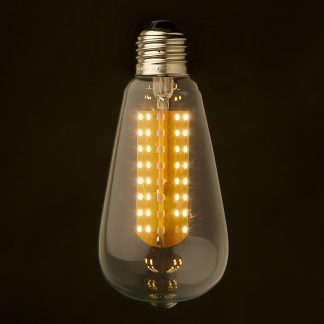 3 Watt Dimmable LED E26 Clear Edison bulb