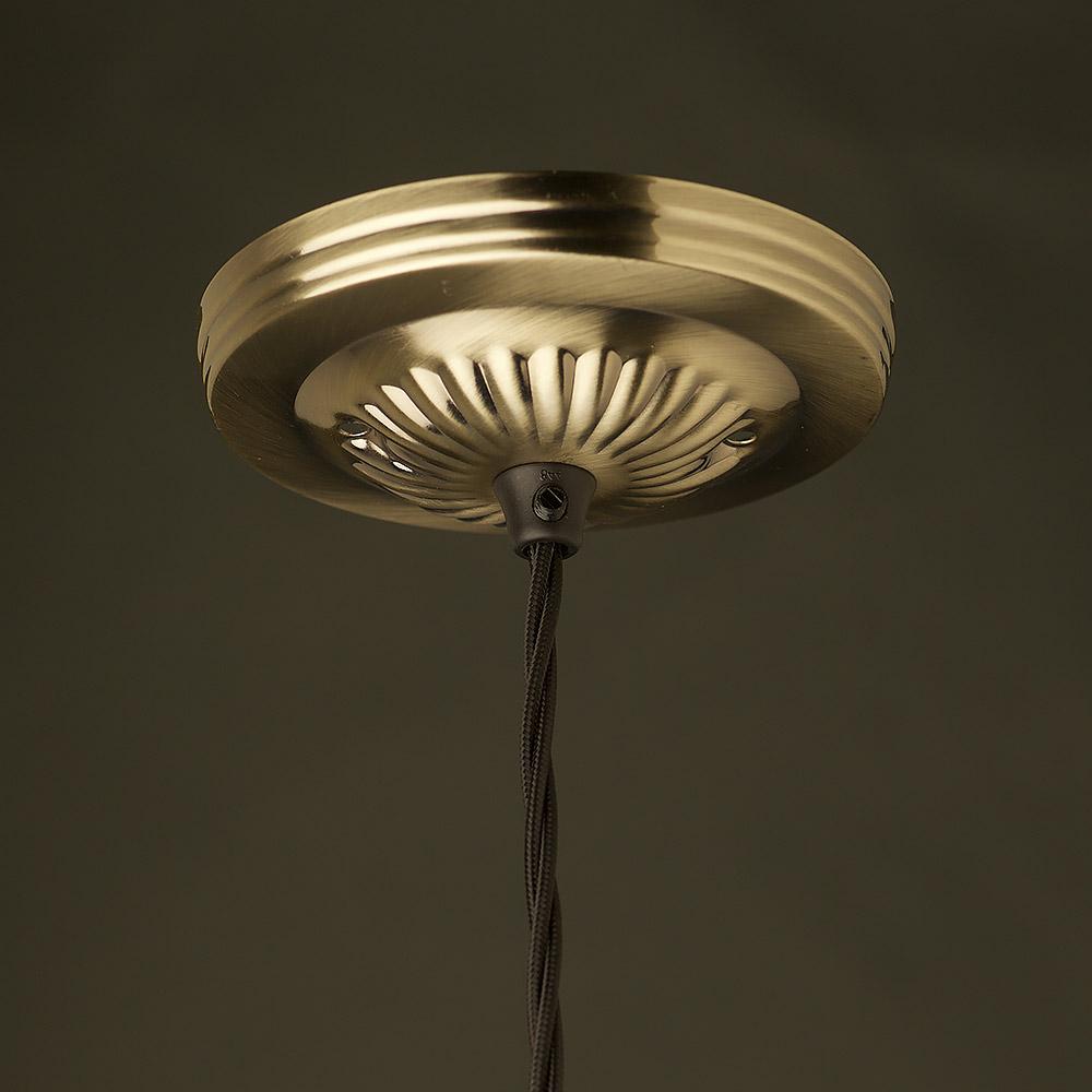 Brass 225 inch cast fitter socket edison light globes llc edison style light bulb and e26 brass pendant mozeypictures Choice Image