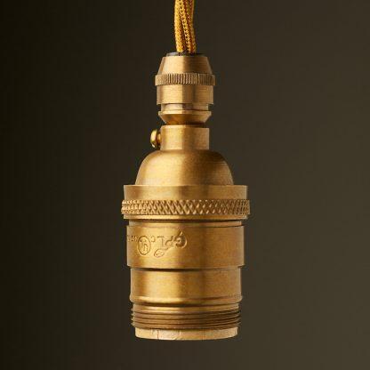 Antique Brass E26 120V Cordgrip Pendant lampholder