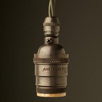 Bronze E26 120V Cordgrip Pendant lampholder