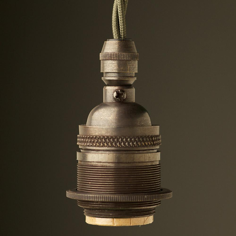 Edison Style Light Bulb E26 Bronze Pendant