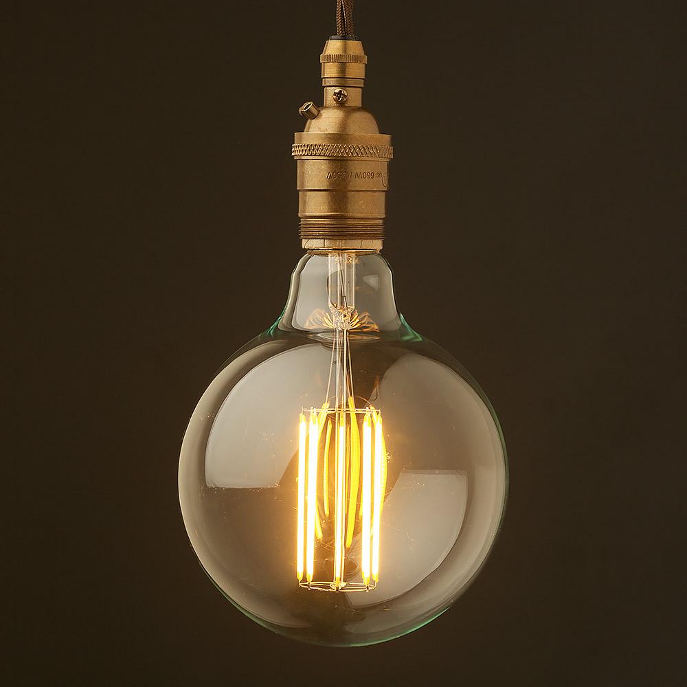 Edison Style Light Bulb E26 Brass Pendant