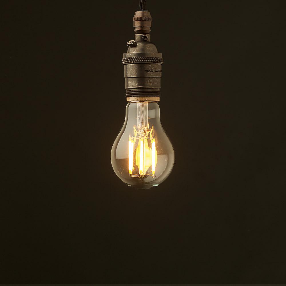 Edison style light bulb and E26 bronze pendant & Edison Style Light Bulb E26 Bronze Pendant azcodes.com