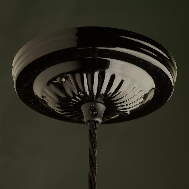 Edison style light bulb and E26 bakelite pendant