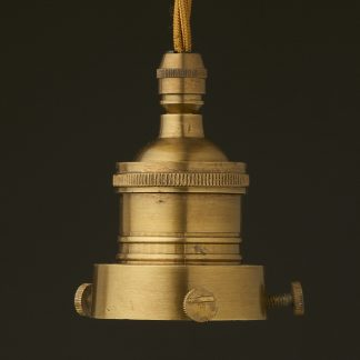 Brass 2.25 inch Cast Gallery and Socket