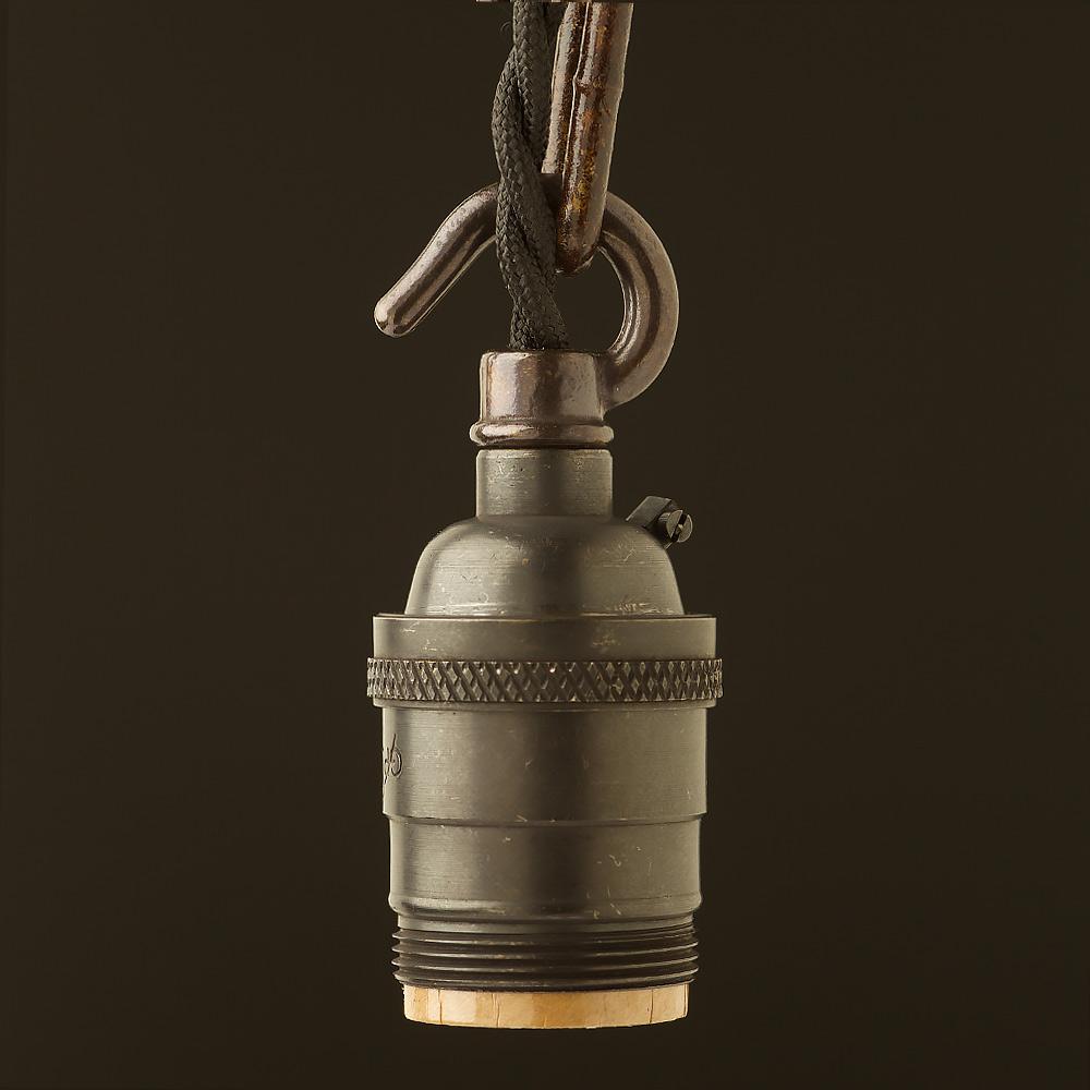 Bronze e26 e26 chain hook pendant socket mozeypictures Image collections