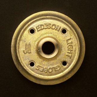 Cast brass flange plate