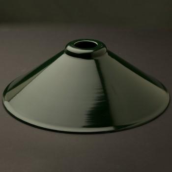 Dark green light shade 12 inch
