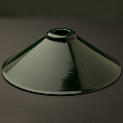 Dark green light shade 12 inch