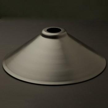 Rustic steel light shade 12 inch