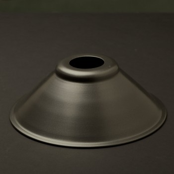 Rustic steel light shade 7 1/2 inch