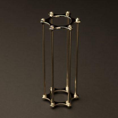 Medium Bulb Brass Cage nickel