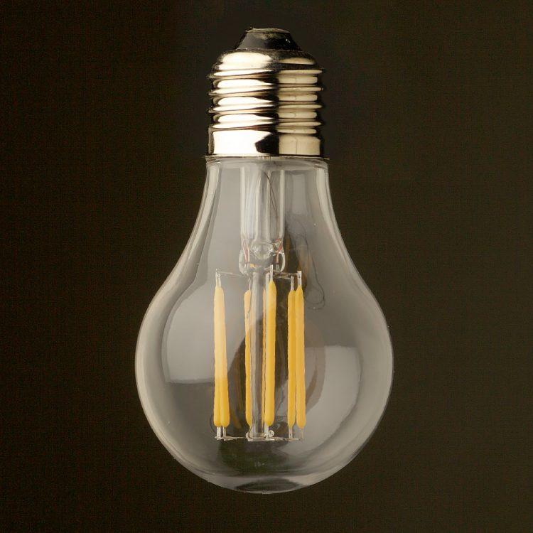 5 Watt Dimmable Filament LED E26 Shatterproof GLS