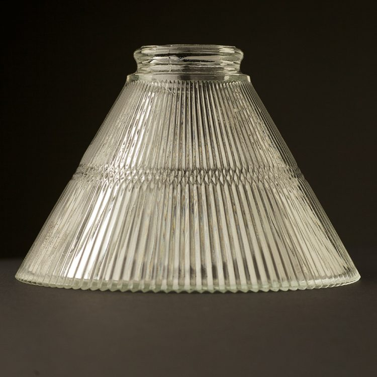Holophane Cone Glass Light Shade