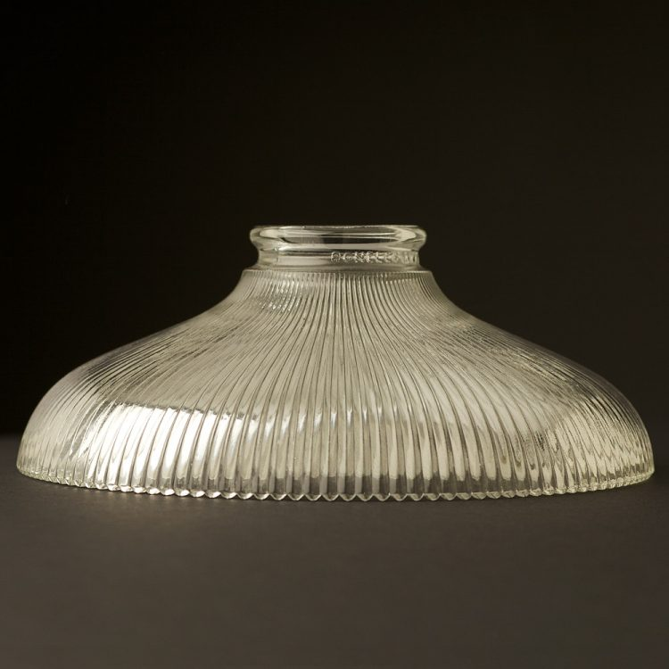 Holophane Glass Dish Light Shade