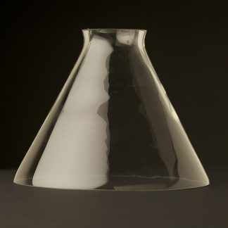 Clear glass coolie shade 6.5 inch