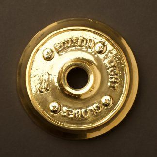 Polished Cast brass plumbing pipe flange plate