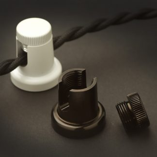 Thumb screw cable swag hook