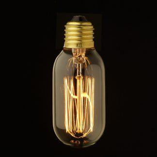 Vintage Edison Fat Tube Filament Bulb