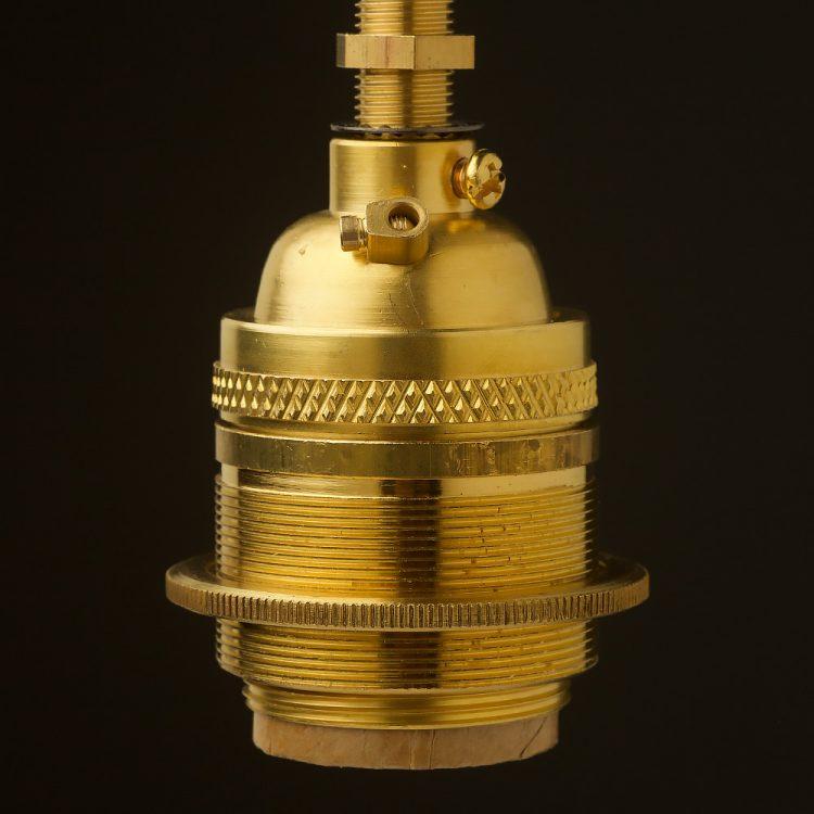 New Brass E26 Standard Socket