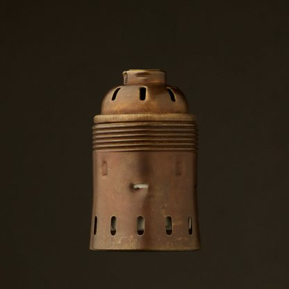 GES Antiqued Brass socket