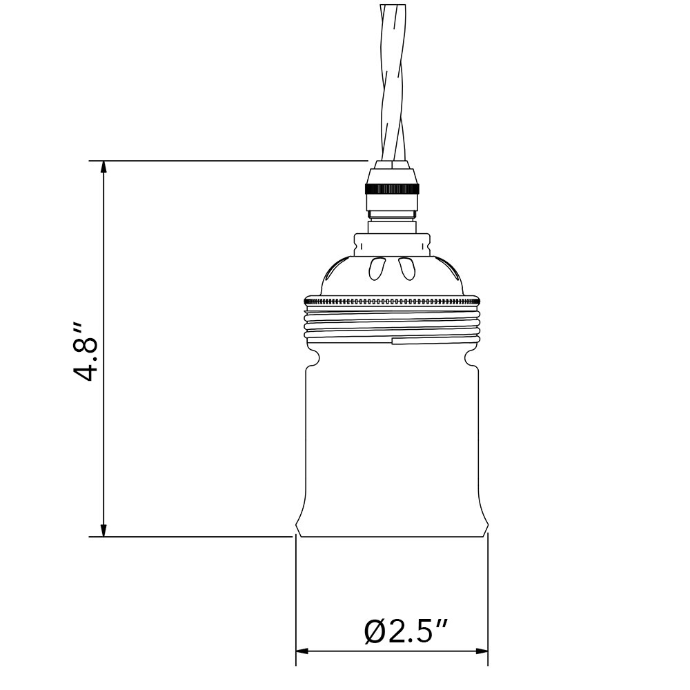GES socket dimensions