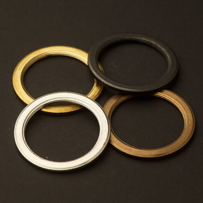 Shade rings for E26 brass socket barrel