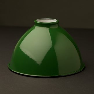 Green dome 2.25 fitter type light shade 7 inch