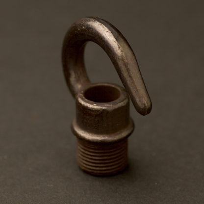 "Bronze Brass screw in hook 1/2"""
