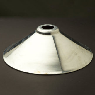 Galvanised steel light shade 12 inch