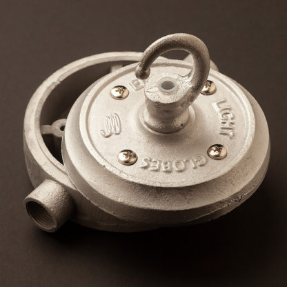 2 Way 20mm Conduit plumbing pipe mount Junction Box Aluminium