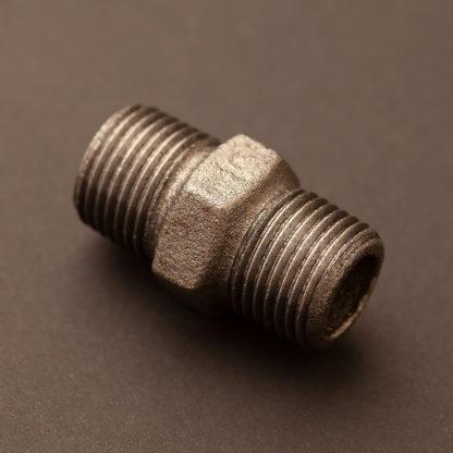 Half inch plumbing pipe hex nipple