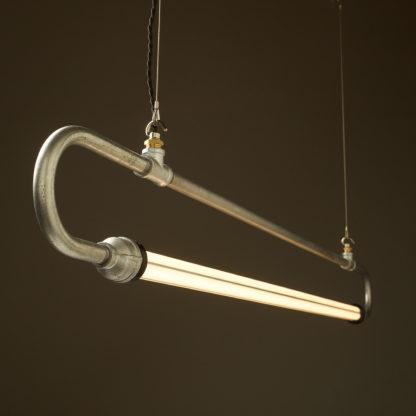 59 inch X half inch pipe loop LED tube light