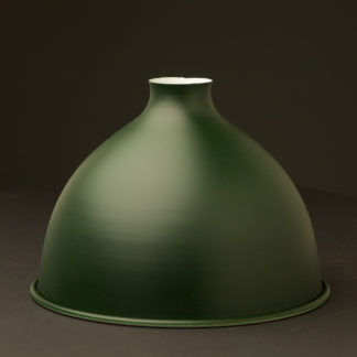Antiqued green dome light shade 10.5 inch