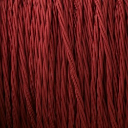 Burgundy-braid-cable