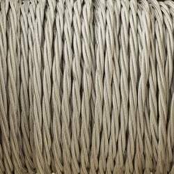 Grey-braid-cable