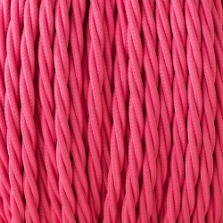 Hot-pink-3-core-braided-cable