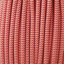 Red-and-white-zig-zag-cloth-cable