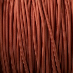 Rose-Pink-3-core-braided-pulley-cable