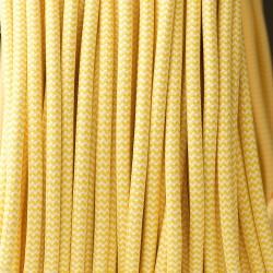 Yellow and white zig Zag