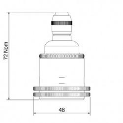 Brass-Pendant-Lamp-Holder-E27-Fitting