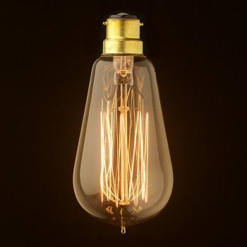Vintage-Edison-Squirrel-Cage-Teardrop-filament-bulb-B22