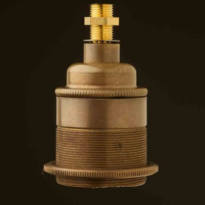 Brass Threaded Lampholder Edison E27 fitting
