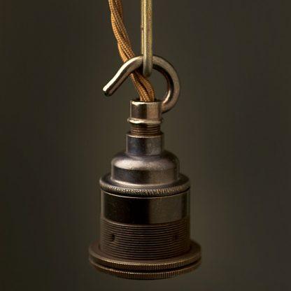 Bronze Chain Hook Lampholder Edison E27 fitting