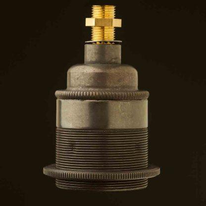 Bronze Threaded Lampholder Edison E27 fitting